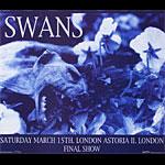 Frank Kozik Swans Final Show Poster