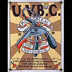 Frank Kozik U.V.B.C. Poster
