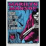 Lindsey Kuhn Marilyn Manson Poster