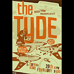 Little Friends of Printmaking The Tyde Poster
