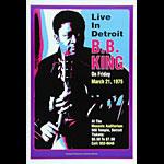 Dennis Loren B.B. King Poster