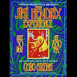 Dennis Loren Jimi Hendrix Poster