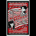 Dennis Loren White Stripes Poster