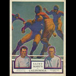 1928 California Bears vs St. Mary's Gaels College Football Program