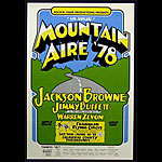 Mountain Aire 1978 Jimmy Buffett Poster