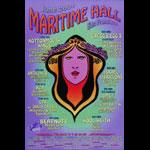 Kottonmouth Kings at Maritime Hall - RZA David Crosby Israel Vibrations MHP #122 Poster