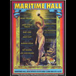 Kevin Haapala George Clinton at Maritime Hall - Jimmy Cliff Burning Spear Joe Louis Walker MHP #20 Poster