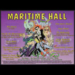 Amanda Conner The Mothership at Maritime Hall - George Clinton and Parliament-Funkadelic - Bootsy Collins MHP #24 Poster