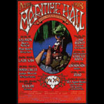 Dave Huckins Clutch at Maritime Hall - Limp Bizkit Rakim Less Than Jake Papa Roach MHP #44 Poster
