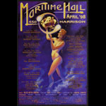 Kevin Haapala King Diamond at Maritime Hall - Billy Cobham Robert Hunter Lee Scratch Perry MHP #45 Poster