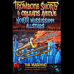 Matthew Fleming Trombone Shorty and Orleans Avenue MO2 Poster