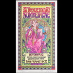 Bob Masse Summer Of Love 30th Anniversary Professor Poster Signature Poster - signed numbered