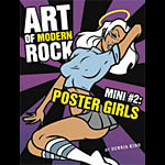 Art of Modern Rock Mini #2: Poster Girls Autographed Book