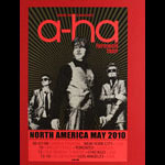 Ron Donovan A-Ha North America 2010 Farewell Tour Poster