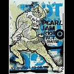 Ames Bros Pearl Jam Poster