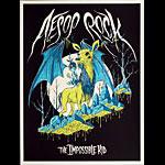 Alex Pardee Aesop Rock - The Impossible Kid 2016 Album Release Poster