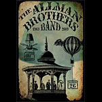 Lindsey Rogers The Allman Brothers Band 40th Anniversary Poster