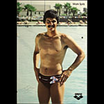 Mark Spitz 1972 Olympics Arena Swimming Poster