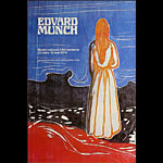 Edvard Munch French Art Exhibition Poster
