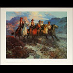 Frank Tenney Johnson Riders of the Dawn Art Print