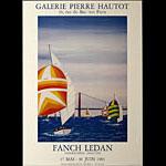 Fanch Ledan 1983 Exhibition Poster