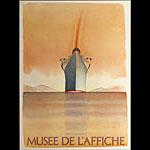 Jean-Michel Folon Musee De L'Affiche Poster