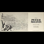 Peter Milton Prints by Art Exhibition Poster