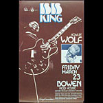 Gary Grimshaw BB King Poster - signed