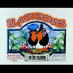 The Black Crowes Fillmore Miami Beach Poster