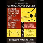 Marla Price 15th Annual Bridge School Benefit Poster
