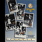 Golden State Warriors 1984-85 Basketball Schedule Poster