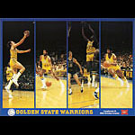 Miller Brewing Company - Golden State Warriors Basketball Poster