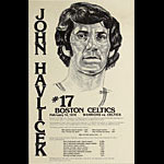 John Havlicek of Boston Celtics Basketball Poster