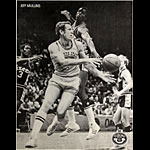 Jeff Mullins Tuborg Beer Basketball Poster