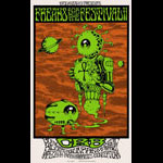 Alan Forbes Freaks for the Festival II - Chris Robinson Brotherhood Poster