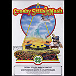 Crosby Stills and Nash - Giants vs. Braves Baseball Poster