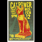 Bradley Zimmerman Cat Power Poster