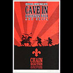 Hand Carved Graphics Cave In Poster