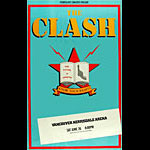 The Clash Vancouver 1982 Poster