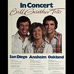 Bill Gaither Trio In Concert - San Diego Anaheim Oakland Poster