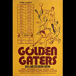 Golden Gaters 1976 Tennis Schedule Poster