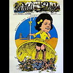 Robert Crumb and Victor Moscoso Wild Dog Poster