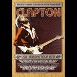 Ron Donovan Eric Clapton USA-Europe 2013 Tour Poster