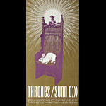 The Sparkplugs - Philipp Thoni Thrones with Sunn O))) Poster