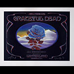 Alton Kelley and Stanley Mouse Grateful Dead Blue Rose Poster