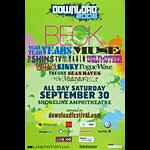 Download Festival 2006 Beck Poster