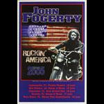 Photo: Robert Fogerty John Fogerty Rockin' America Tour 2005 Poster