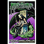 Dave Gink Alice Cooper Brutal Planet - Descent into Dragontown Tour Poster