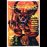 Ron Ransom Ozzfest 2001 Poster