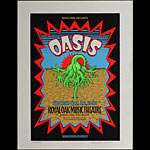 Gary Grimshaw Oasis Poster